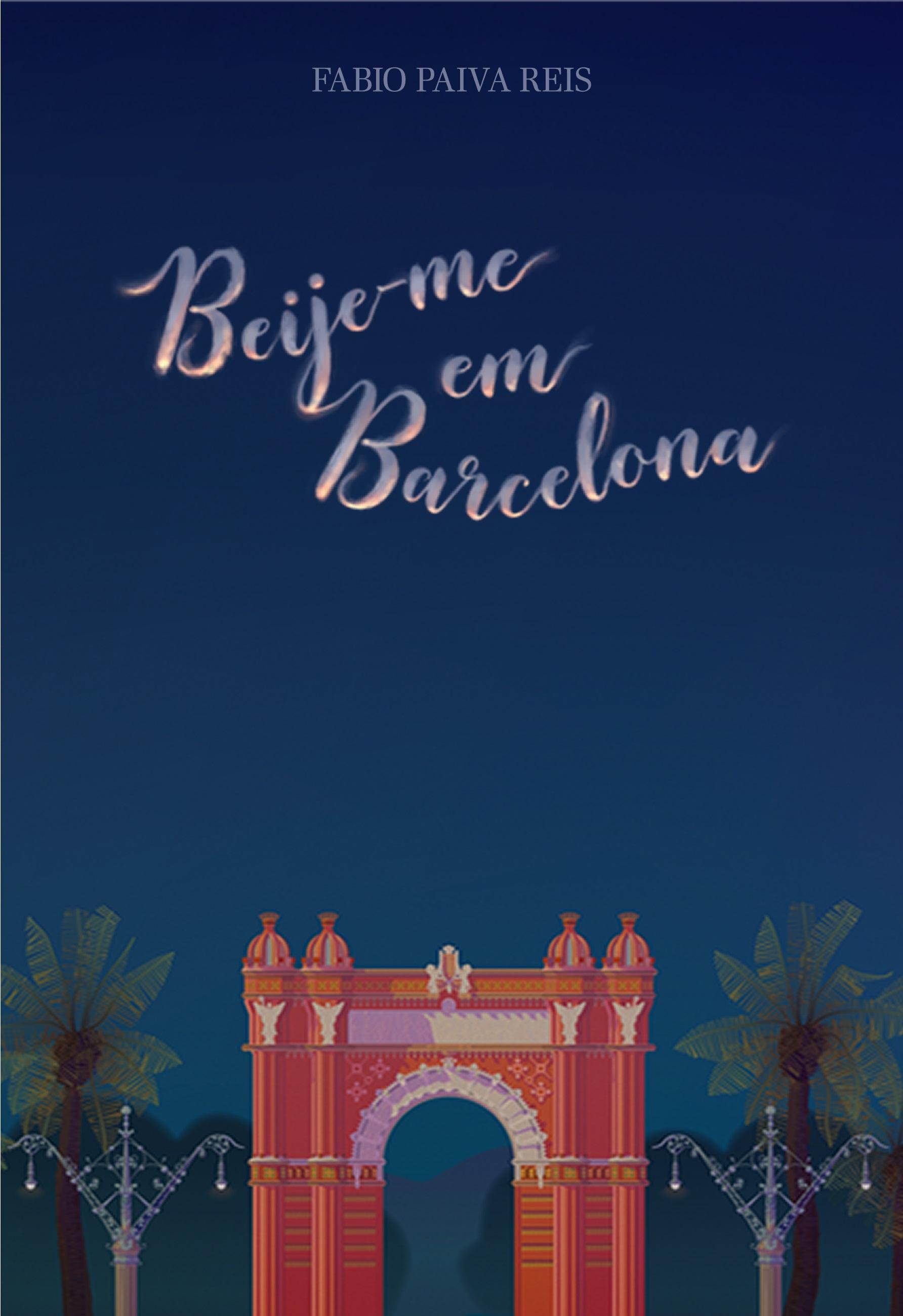 Beije-me em Barcelona – Capa